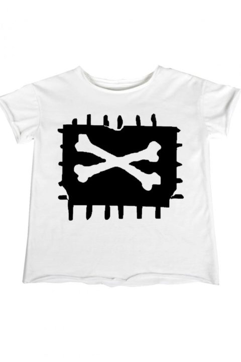 white x bone t shirt