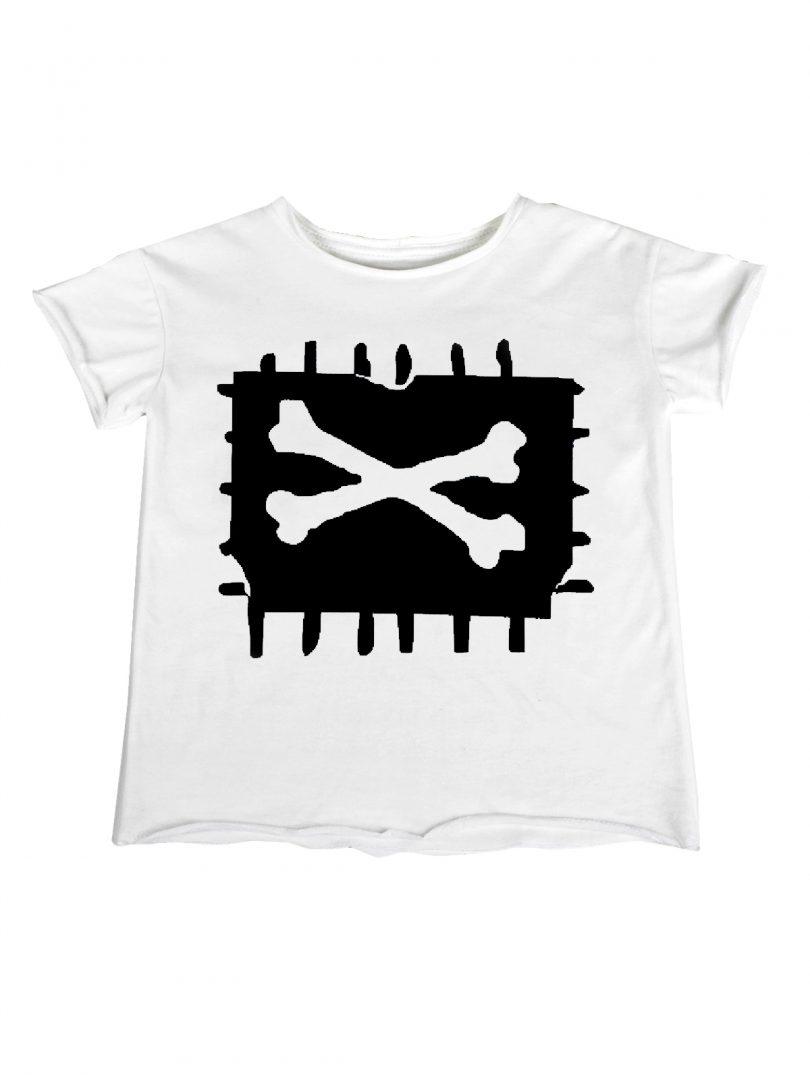 white x bone t shirt