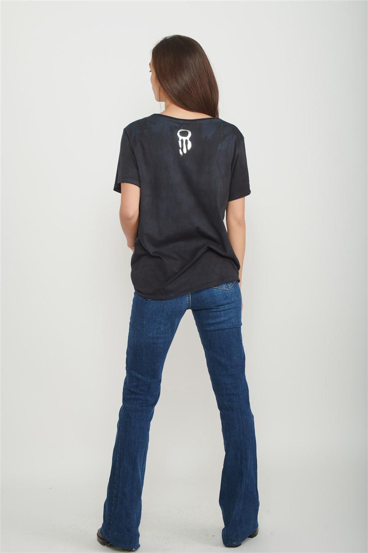 v neck t shirt women