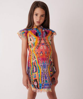 Magic Loom Caftan Dress