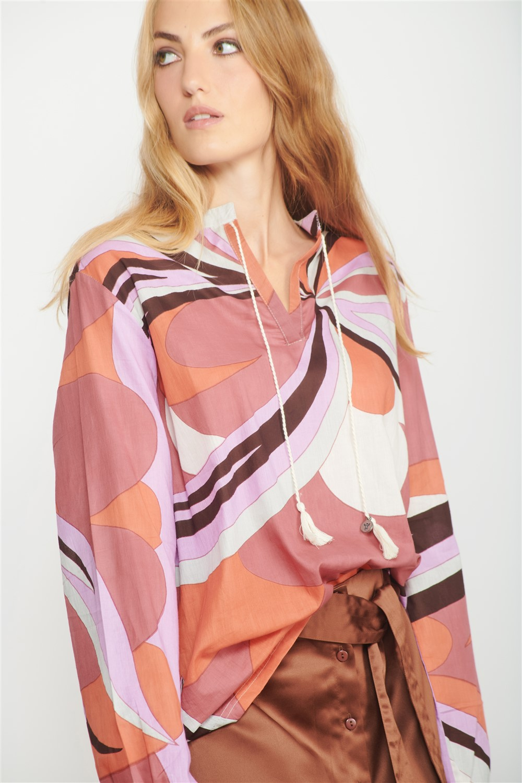 hippy shirt women
