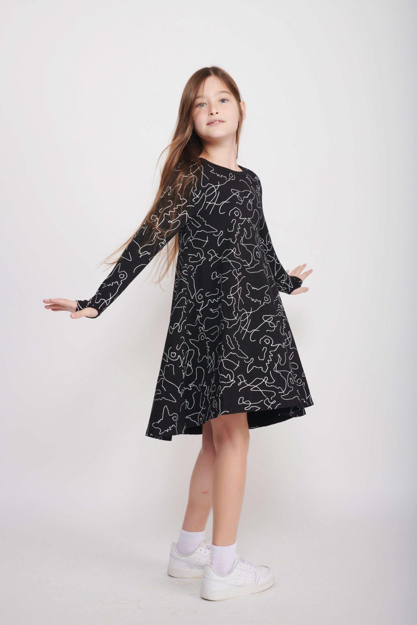 שמלת Sketch לילדות