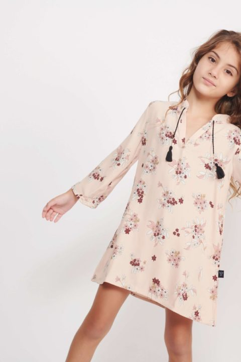 60's Pink Dress for Girls