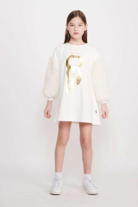 Dream Fur Tunic For Girls