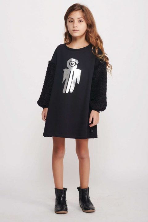 שמלת The Bird Fur Tunic לילדות