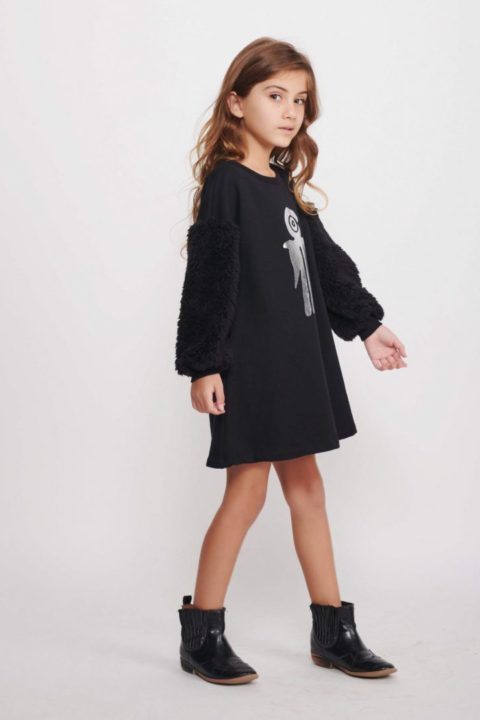 The Bird Fur Tunic for Girls