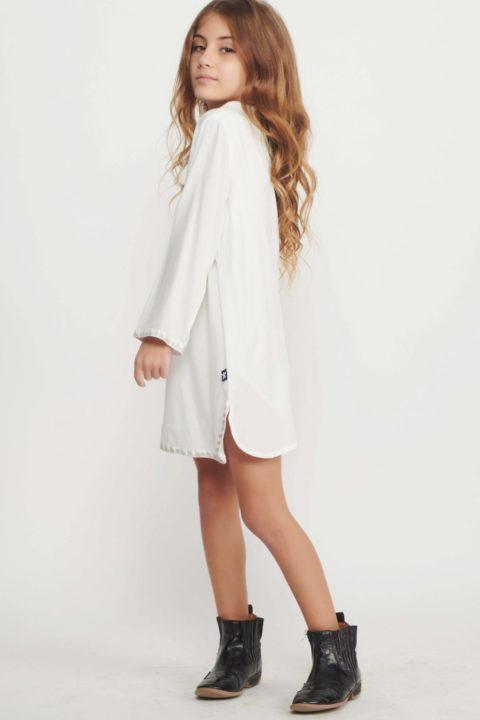 שמלת Cream Holly Caftan לילדות