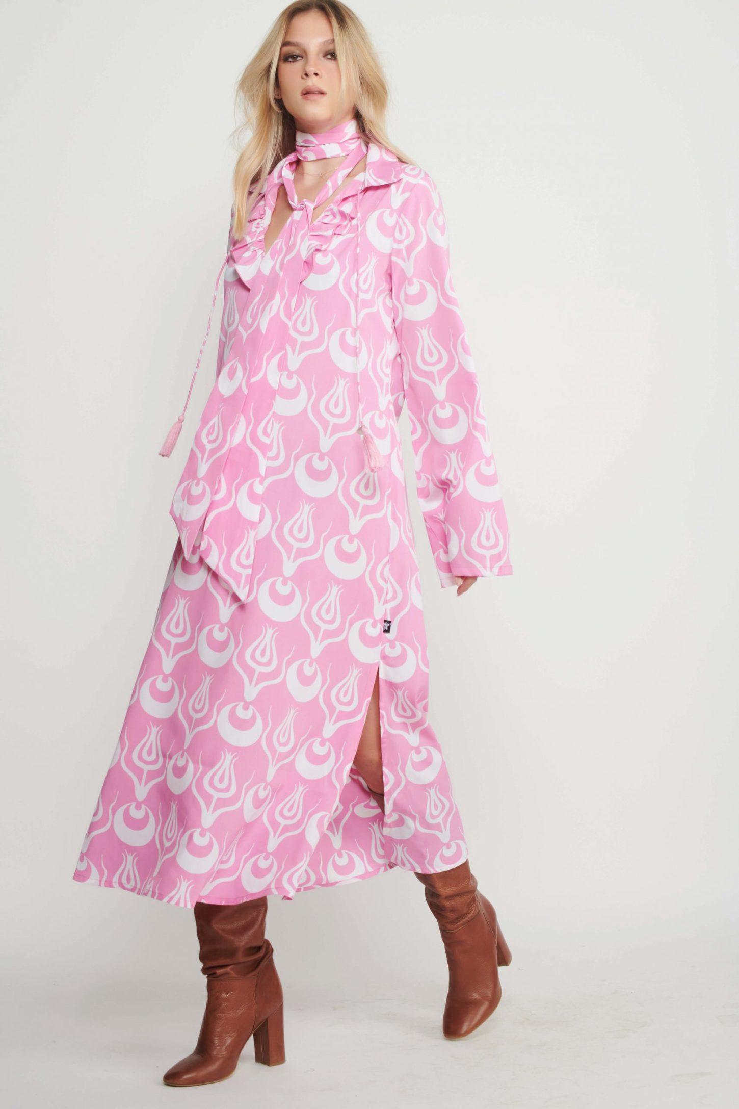 שמלת מקסי Donna לנשים