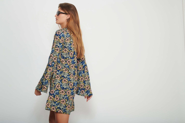 60's Flower Dress for Women