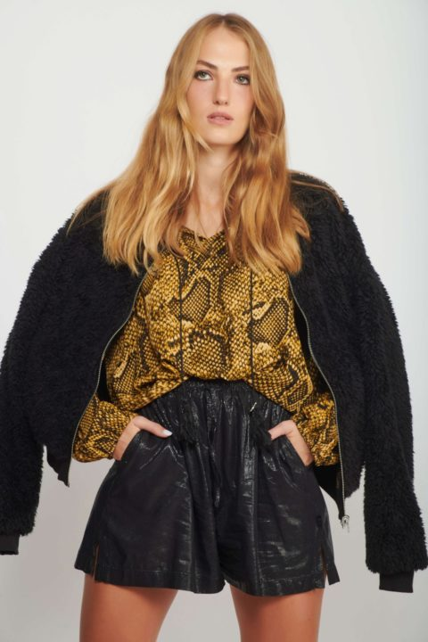 Reversible Maharaja Fur Coat for Women