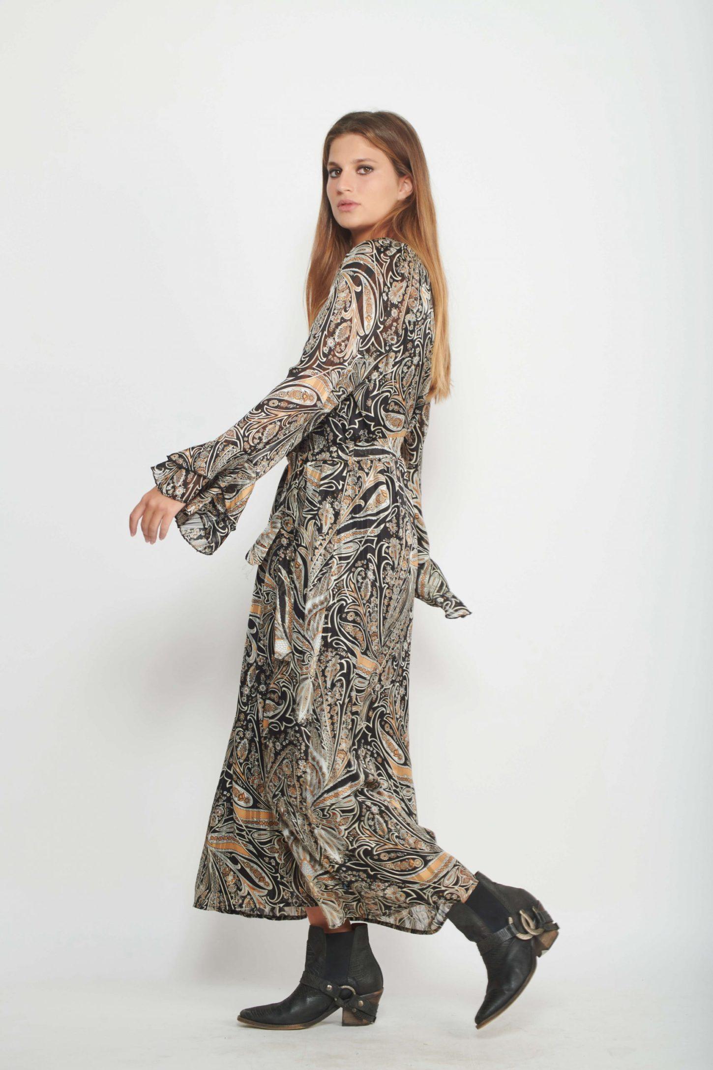 שמלת מקסי Yasmin לנשים