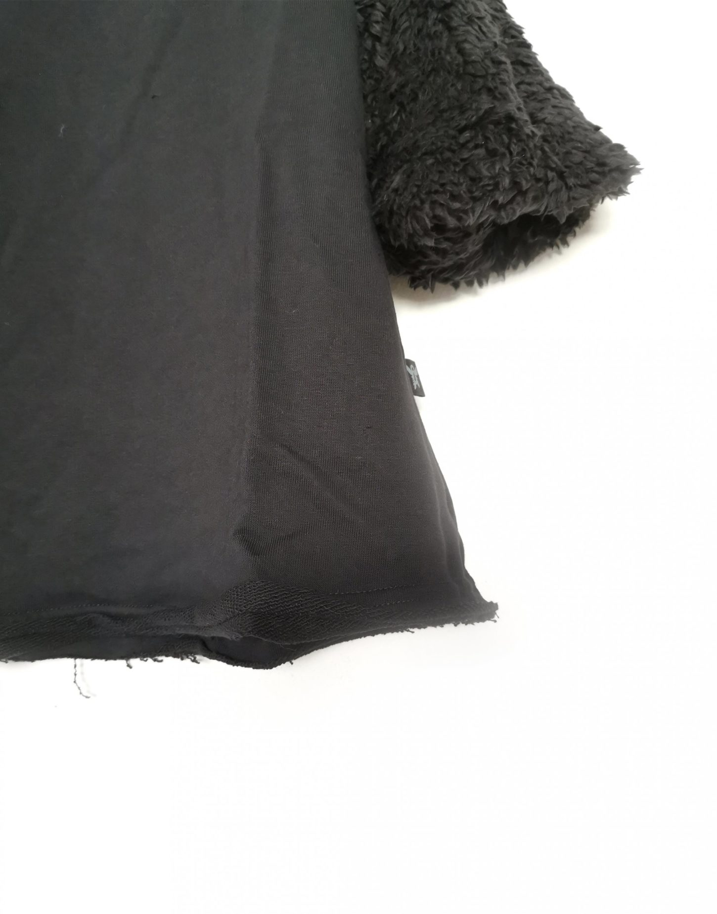 שמלת Black A-Line Fur לילדות