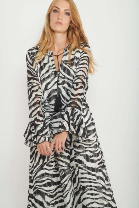 שמלת מקסי Zoo לנשים