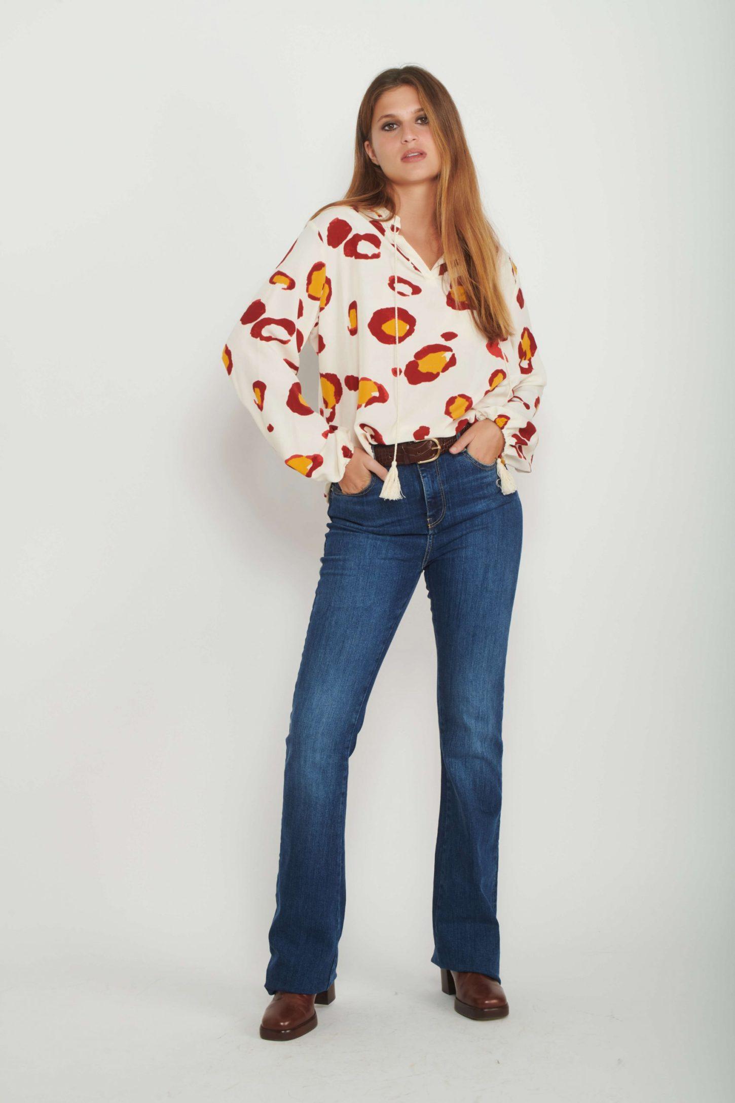 חולצת Leopard לנשים