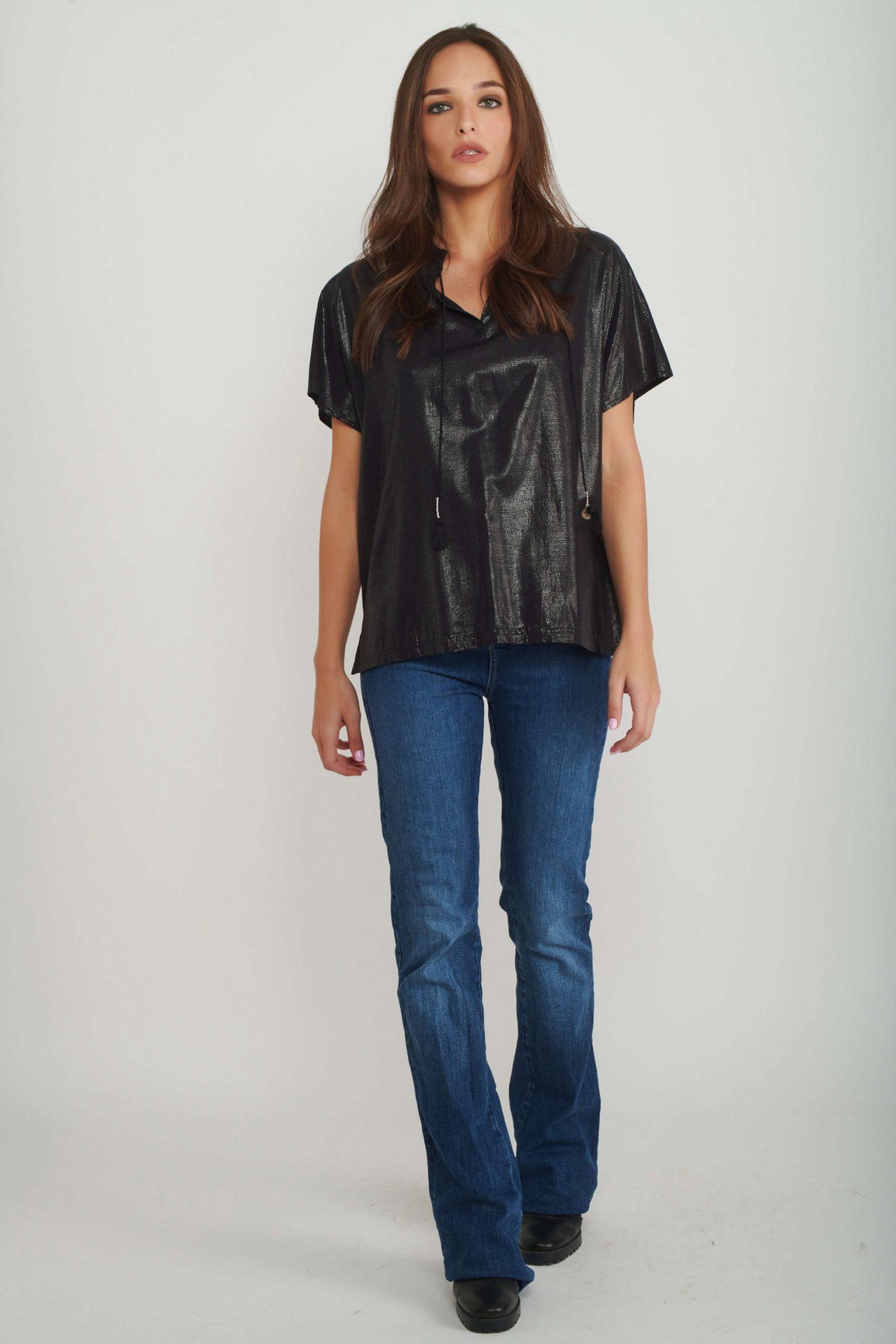 חולצת Glam Rock לנשים