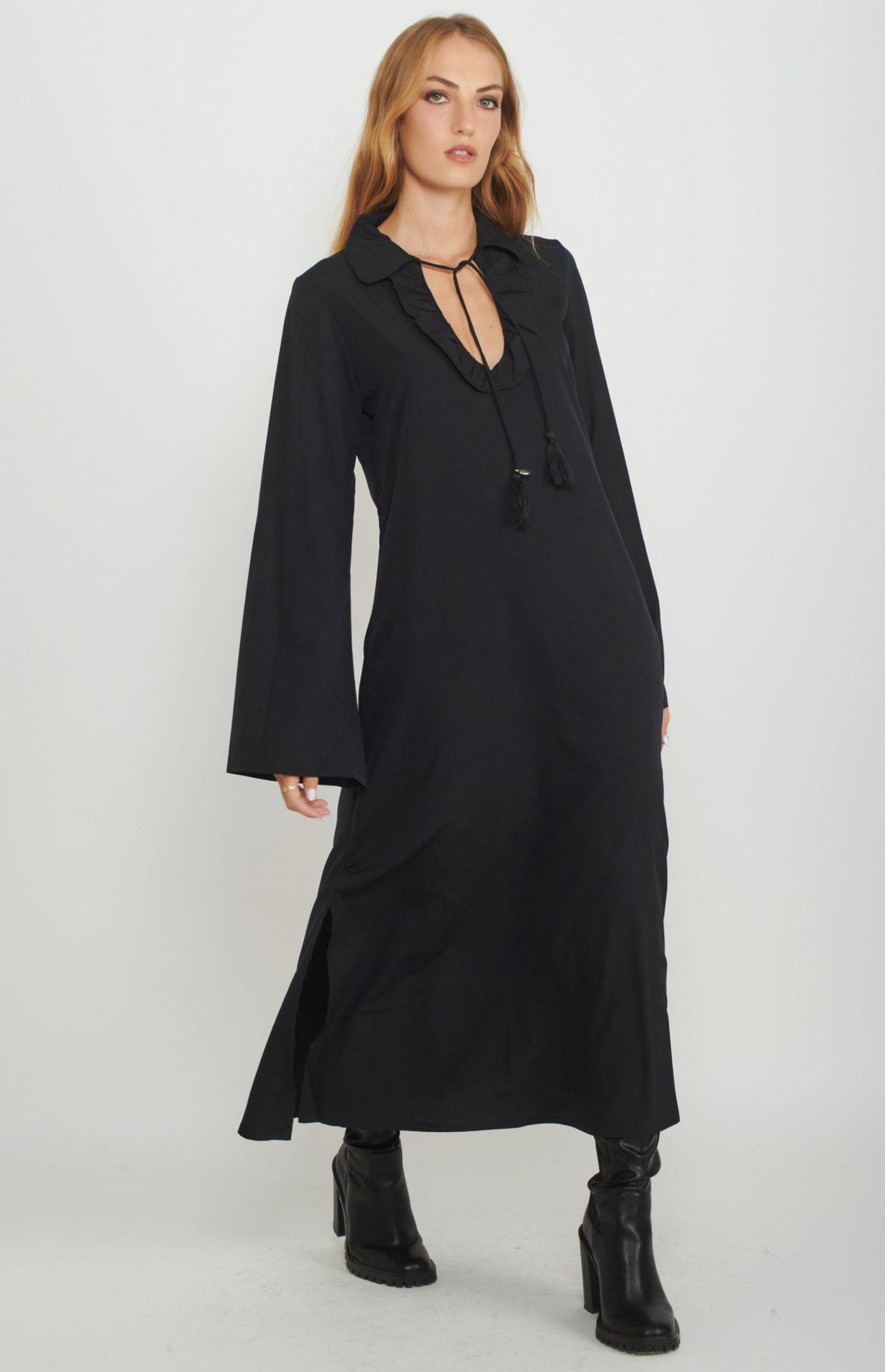 שמלת מקסי Real Frill לנשים