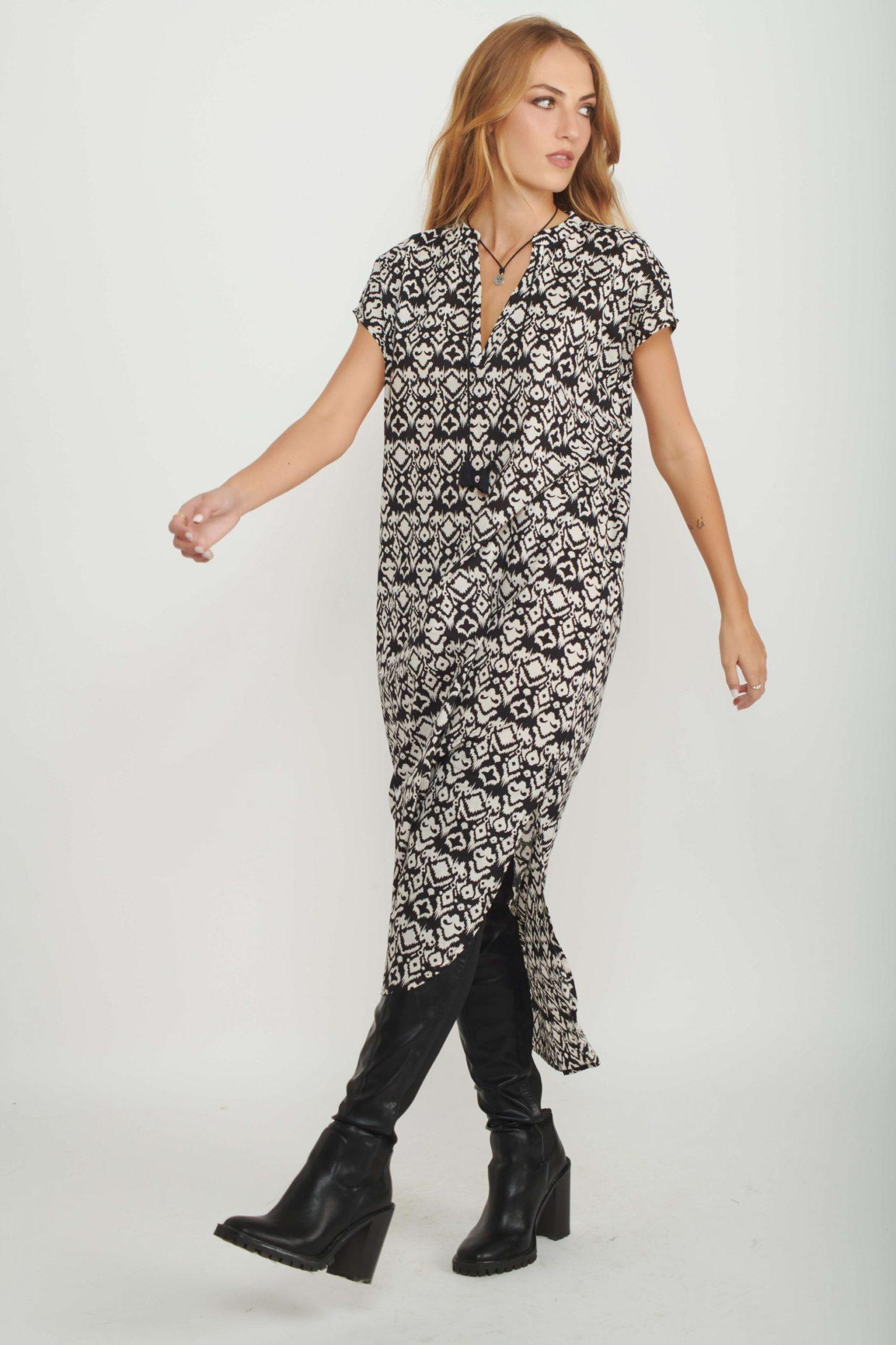 שמלת גלביה Lia לנשים