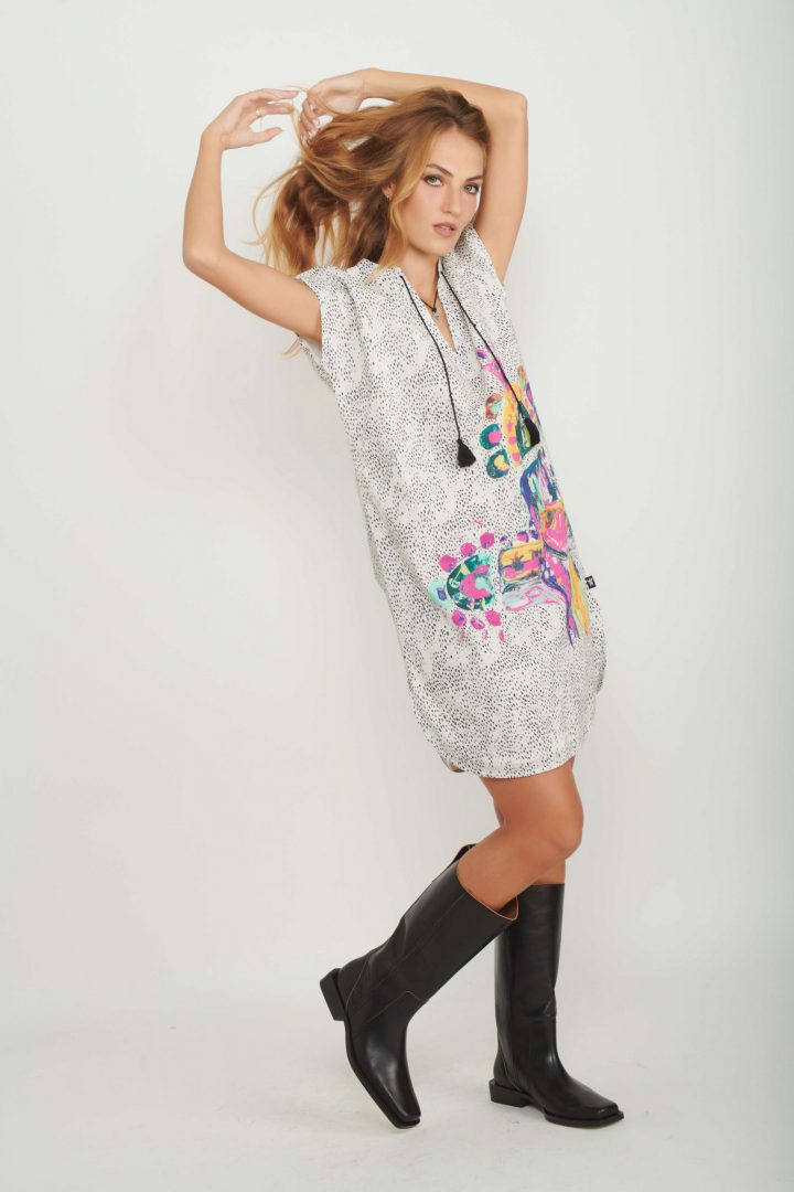 Totem Caftan Dress for Women