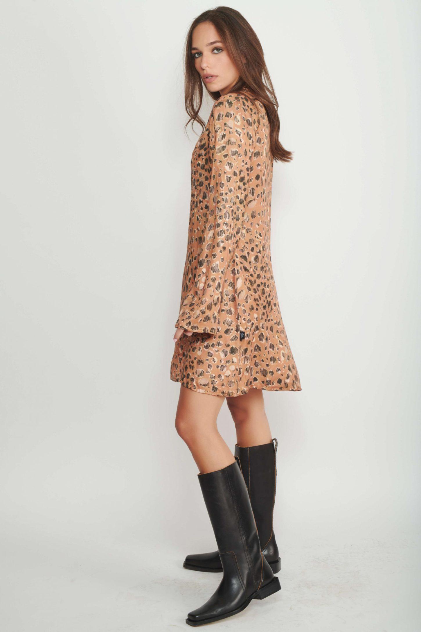 שמלת Tiger Eye לנשים