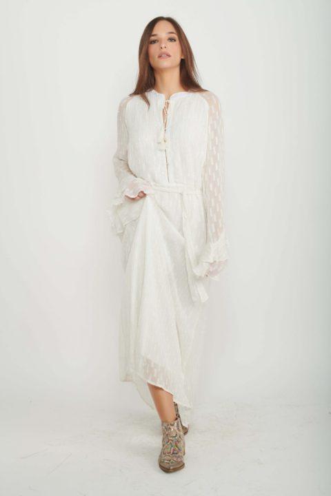 שמלת מקסי Sandra לנשים