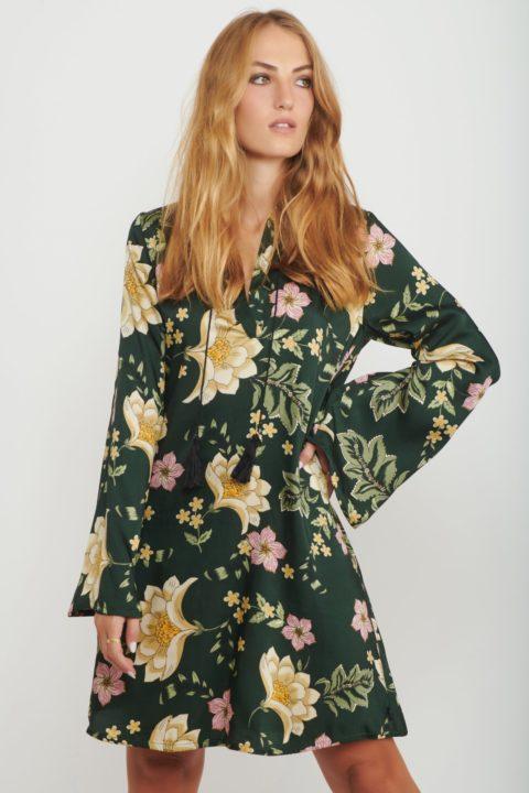 שמלת מידי Tropic Vibe לנשים