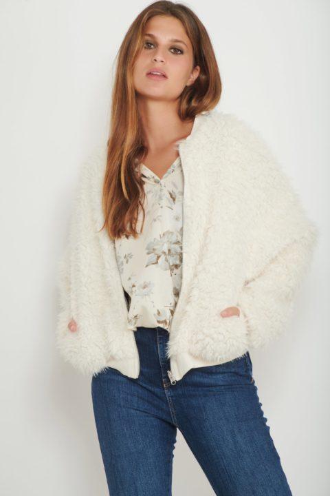 Reversible Sahara Fur Coat for Women