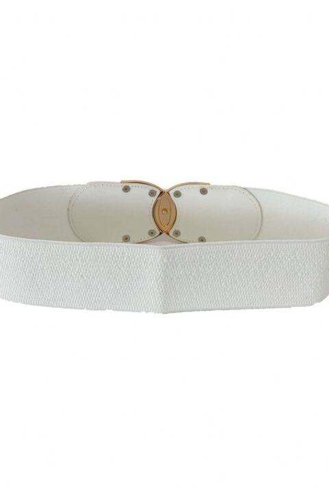White Ever Belt