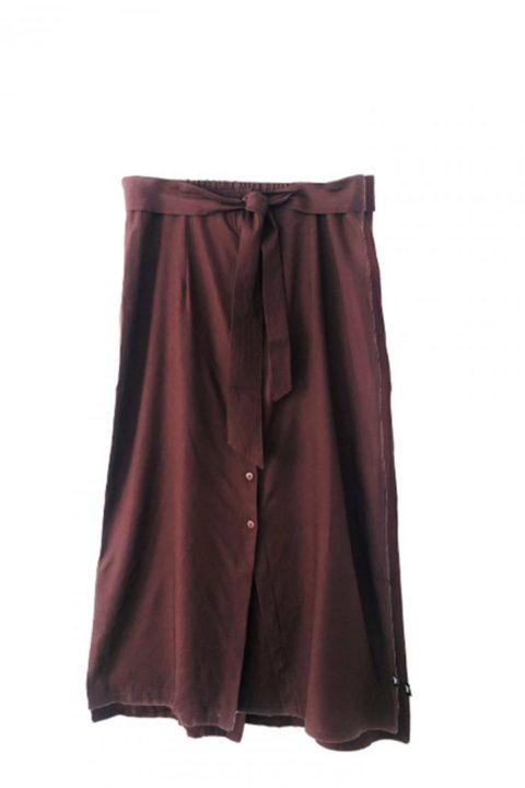 Wine Coco Skirt for Women