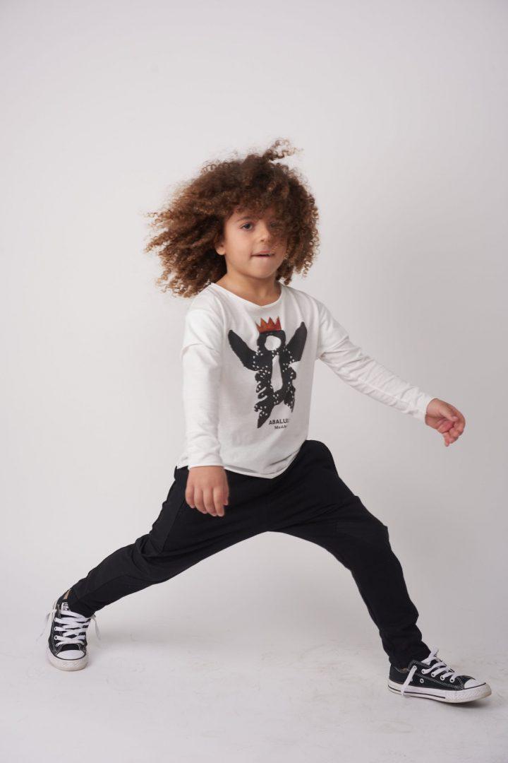 חולצת Crown Long White לילדים