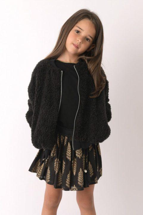 Reversible Maharaja Fur Coat for Girls