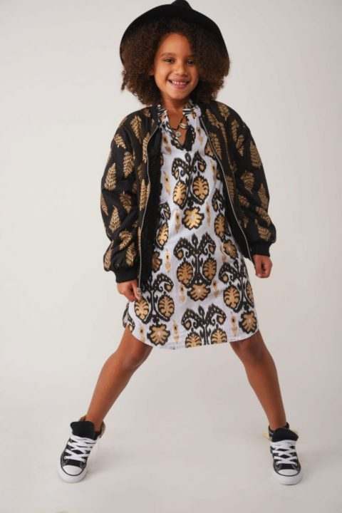 60's Orchid Dress for Girls