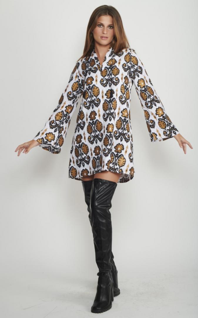 שמלת Orchid 60's לנשים