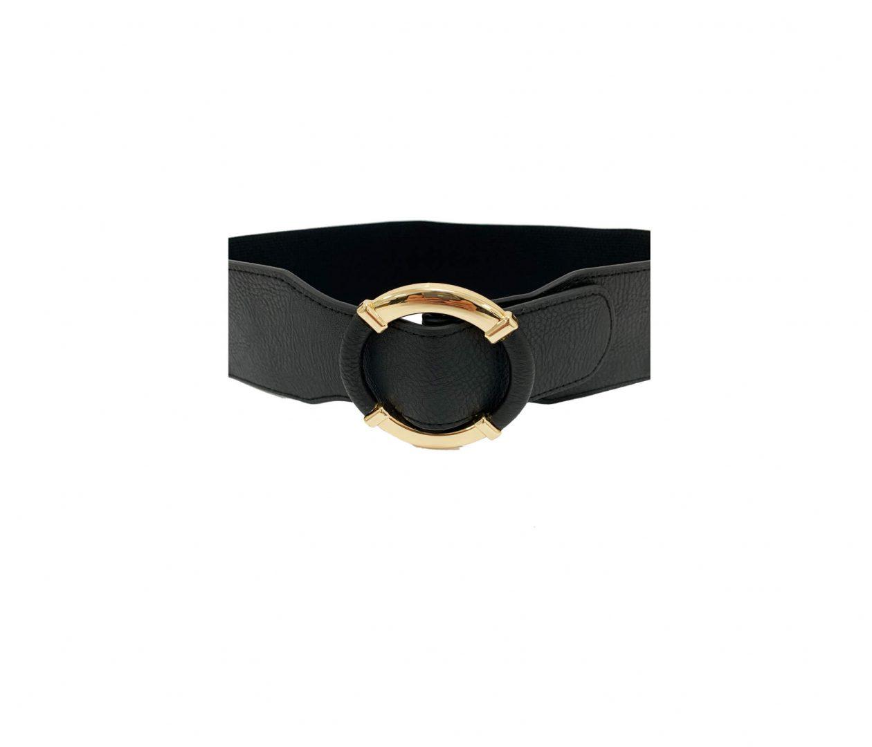 Black Ring Belt