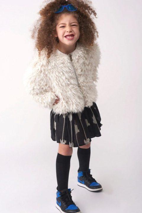 מעיל Reversible Sahara Fur לילדות